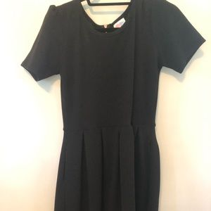 Black lularoe Amelia dress